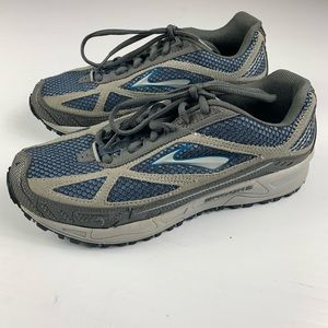 BROOKS Womens Running Sneakers Shoes Size 9 Gray